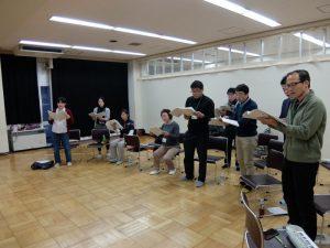 混声合唱団 練習記録