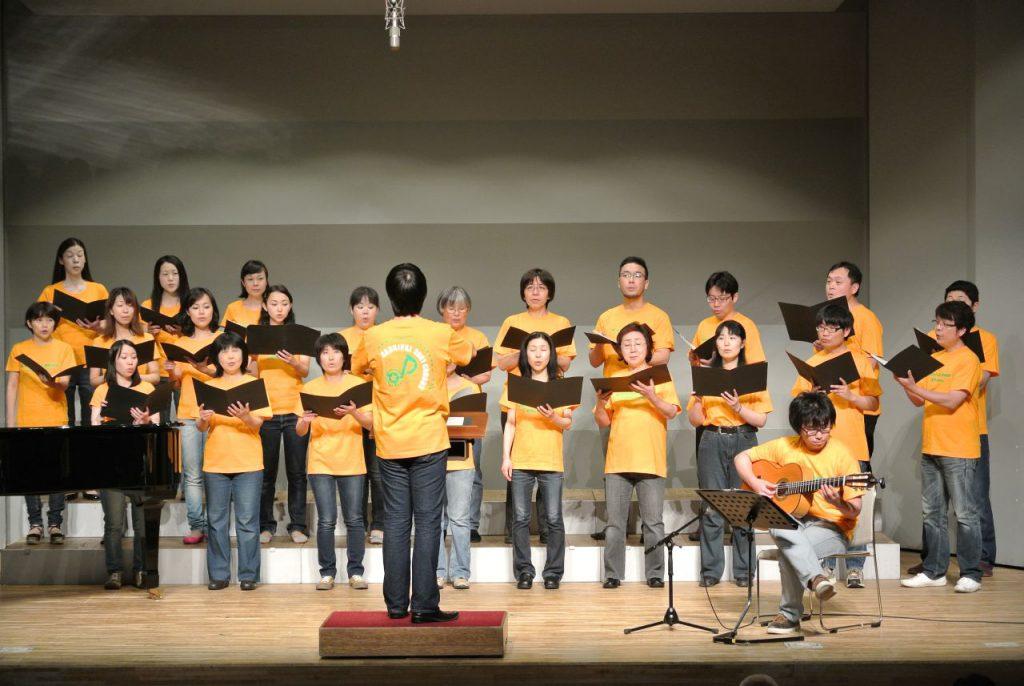 楽団カーニバル2001 混声合唱団 第10回定期演奏会