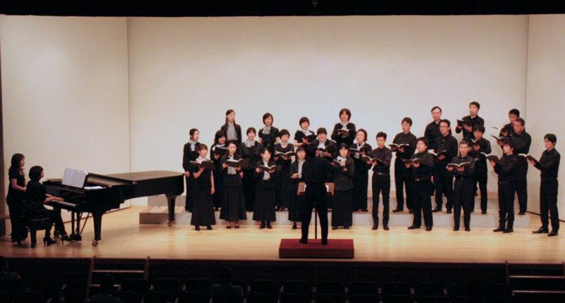 楽団カーニバル2001 混声合唱団 第8回定期演奏会