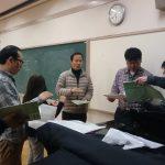 2017年03月26日 合唱練習報告:東京