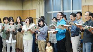 2019年10月06日 合唱練習報告:東京